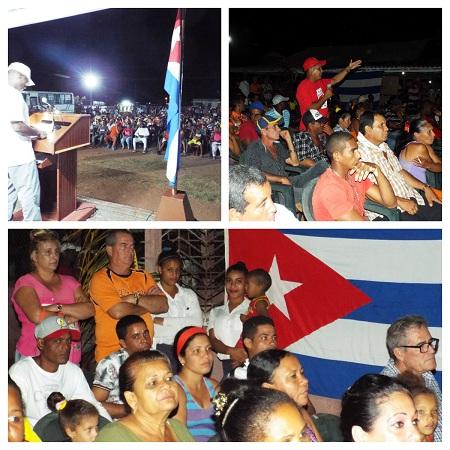 Pobladores de Esmeralda protagonizan en Camagüey inicio de nuevo diálogo pueblo-gobierno