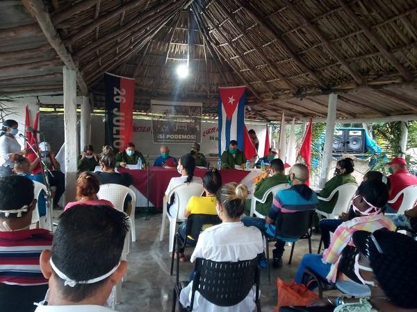 Somos Continuidad, escenario de debate en comunidad vertientina Blanquizal (+Fotos)