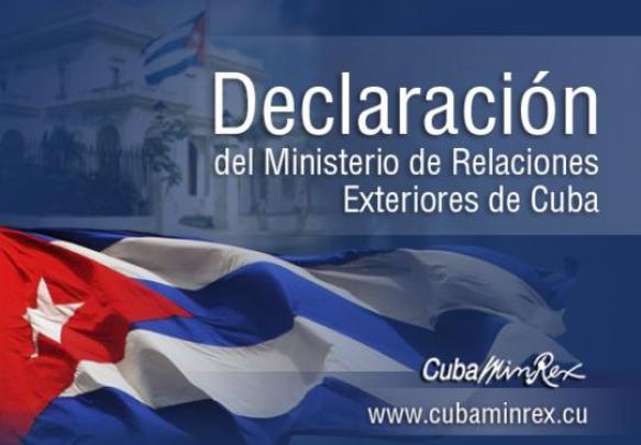 Cancillería cubana rechaza calumnias del Grupo de Lima