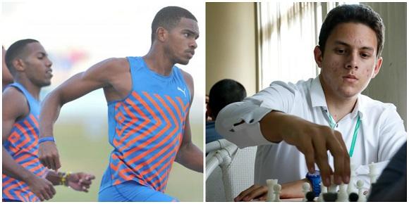 Albornoz y Skyers, los mejores atletas de Camagüey en febrero