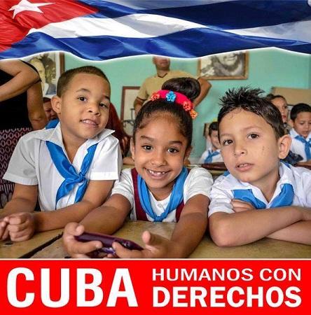 En Cuba se garantizan y protegen los derechos humanos
