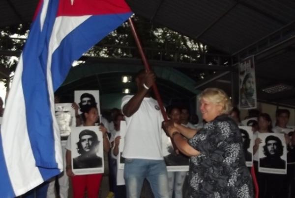 Constitué à Camagüey détachement juvenill de plus grande organisation de masse à Cuba (+ photos)