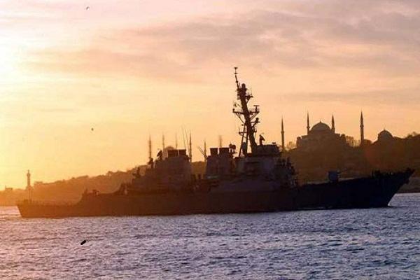 Entra destructor estadounidense en puerto ucraniano de Odessa