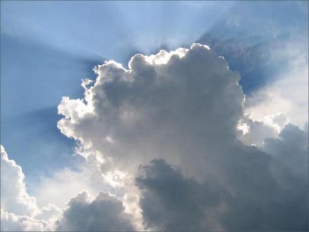 Anuncian nublados con muy aisladas lluvias en el país
