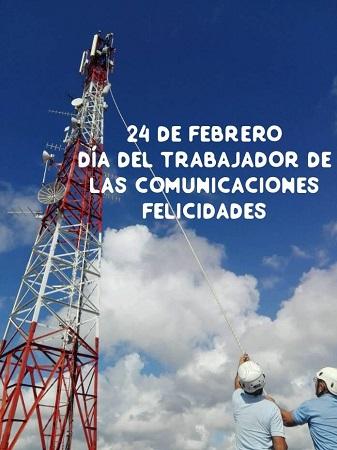 Con avances en la informatización celebran camagüeyanos Día del Trabajador de las Comunicaciones