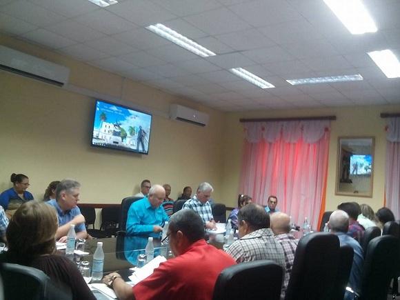 Díaz-Canel assesses important socio-economic programs in Camagüey (+ Fotos)