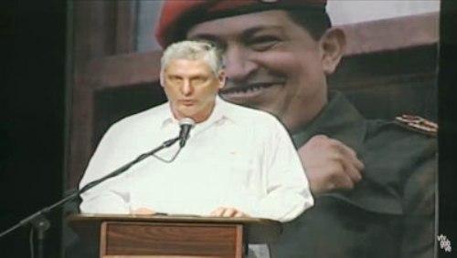 Pondera Vicepresidente cubano ejemplo de Hugo Chávez (+ Audio)