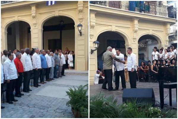 Preside Díaz-Canel celebración habanera del Día de la Rebeldía Nacional