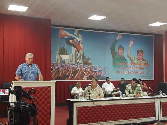 Díaz-Canel: Con la vergüenza de Agramonte, Camagüey enfrenta la crisis energética coyuntural (+ Audio)