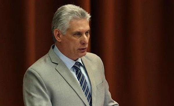 Refuta Díaz-Canel pretextos de golpistas bolivianos para romper relaciones con Cuba