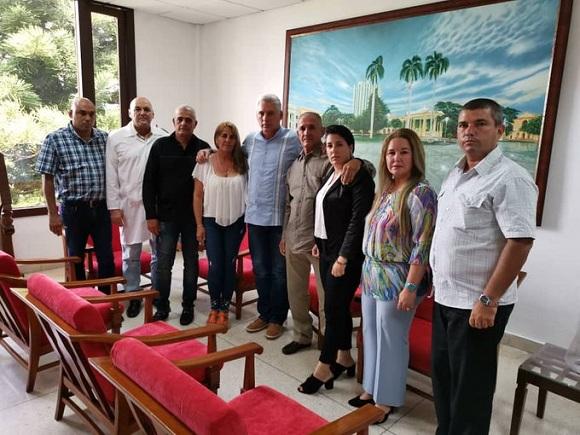 Intercambió Díaz-Canel con familiares de médico cubano secuestrado en Kenya