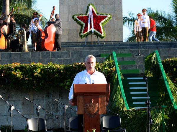 Destaca Vicepresidente cubano ejemplo del Che para nuevas generaciones (+ Audio y texto del discurso)