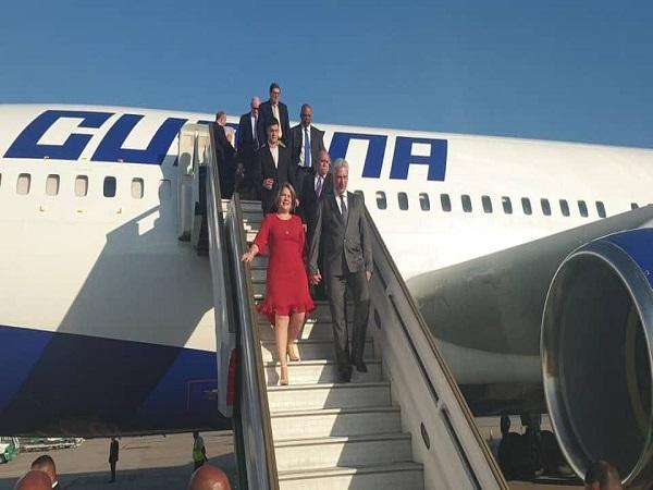 Presidente cubano en Argentina para toma de posesión de Alberto y Cristina Fernández (+ Fotos y Tuit)