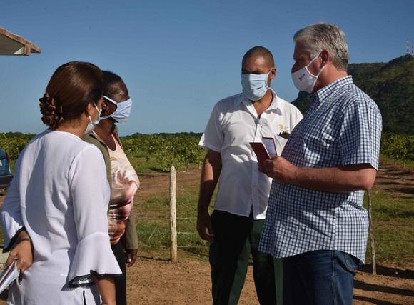 Encabeza Díaz-Canel visita gubernamental a la Isla de la Juventud
