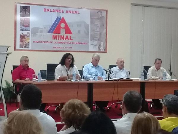 Industria Alimentaria cubana prevé diversificar sus producciones con destino al mercado interno