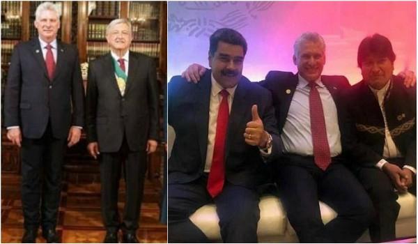 La hermandad latinoamericana en Toma de Protesta de López Obrador (+ Fotos)