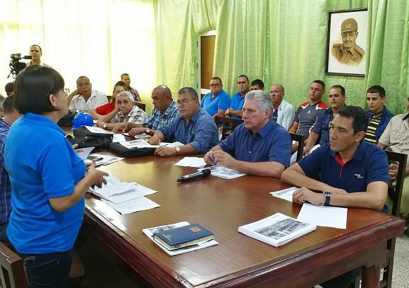 Realiza Consejo de Ministros visita de trabajo a la provincia de Villa Clara