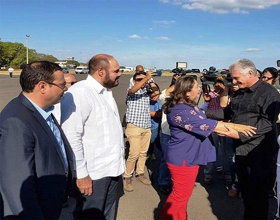 Díaz-Canel en Nicaragua para Cumbre de Asociación de Estados del Caribe