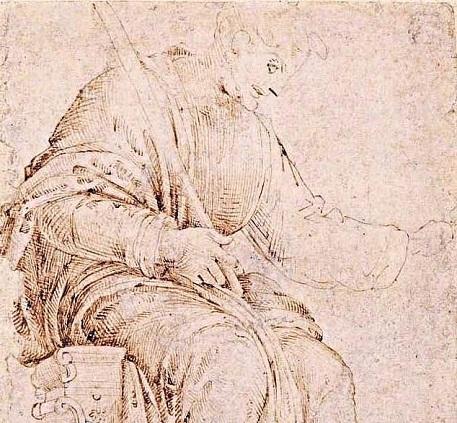 Encuentran dibujo de Miguel Ángel hecho en su adolescencia