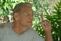 Diosdado no descarta el complot turbulento de Bernabé y sus hijos en torno al ocultamiento de la locomotora.