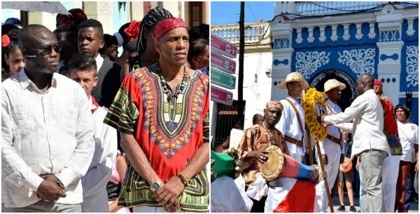 Diplomático nigeriano elogia en Camagüey calidad del Festival Olorum