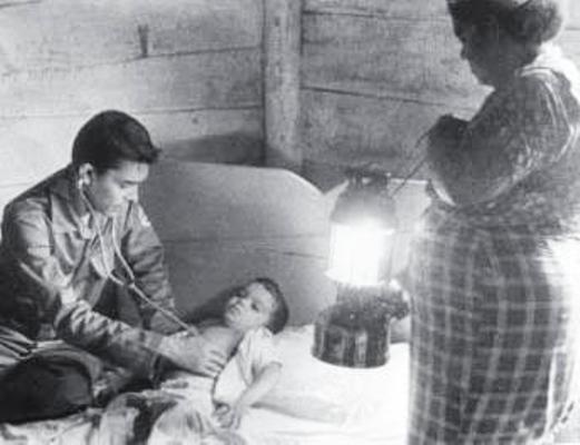 La atención médica al campo, fortaleza de la Revolución