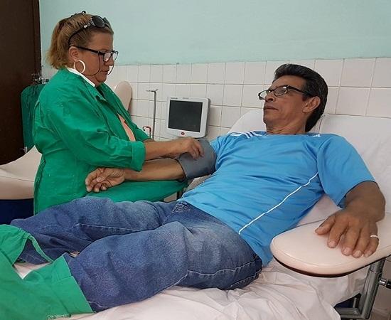 Jorge Luis Mustelier: donante de vidas (+Audio)