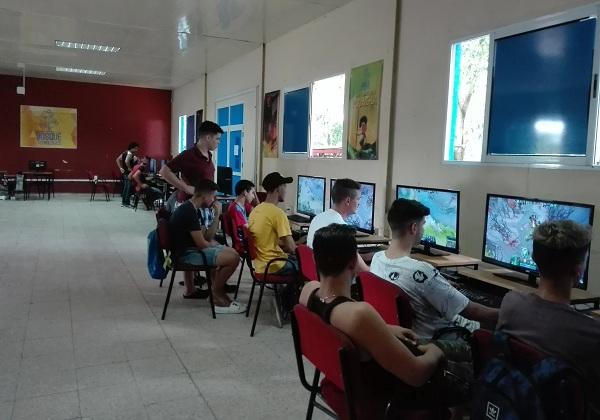 Deportes electrónicos entre propuestas de Camagüey para disfrutar el verano (+ Audio y Fotos)