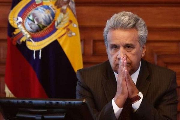 Sigue disminuyendo aprobación de gestión gubernamental de Lenín Moreno