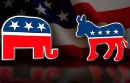Republicanos y demócratas difieren en temas de interés para EE.UU.