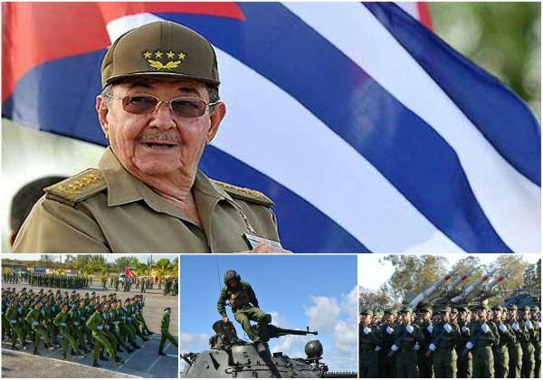 Felicita Raúl al Ejército Oriental por su aniversario 58