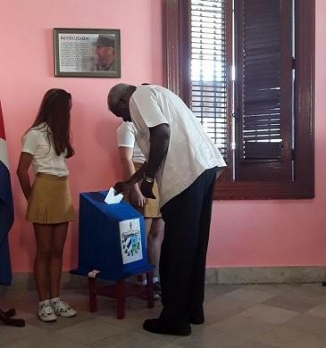 Presidente del Parlamento cubano asegura que elecciones son una muestra de unidad revolucionaria