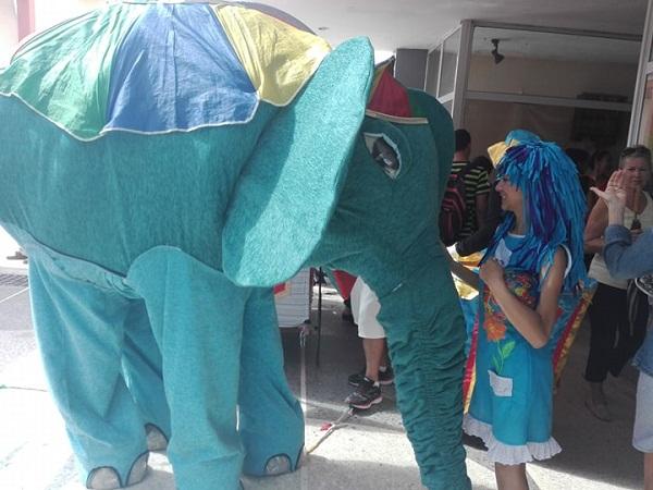Un elefante en las calles camagüeyanas