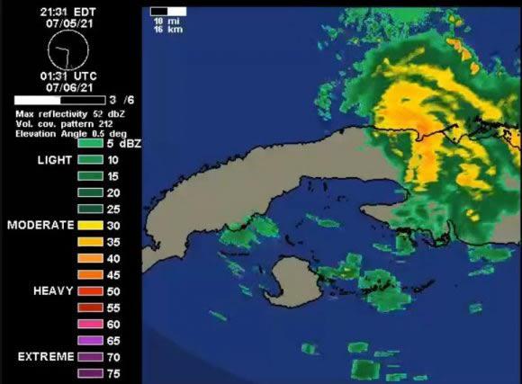 Sale de Cuba tormenta tropical Elsa