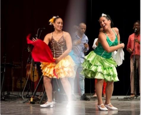 Gala central pour le XXV anniversaire du Ballet Folklorique de Camagüey