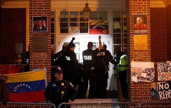 Canciller cubano condena ilegal ocupación de embajada venezolana en Estados Unidos
