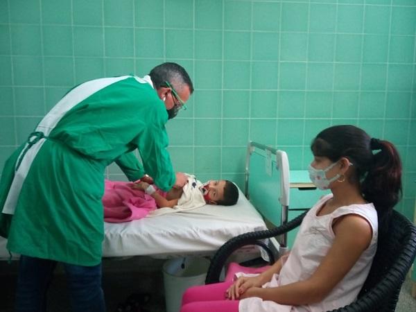 Mejores condiciones para niños hospitalizados en el Pediátrico de Camagüey (+ Fotos y Audio)