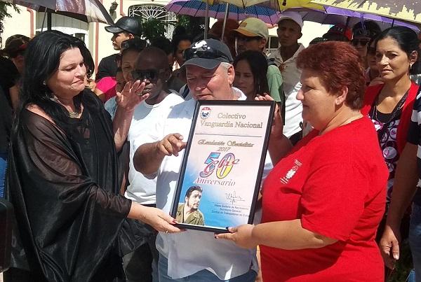 Empresa de Restauración y Conservación de la Ciudad de Camagüey se ratifica como Vanguardia Nacional.