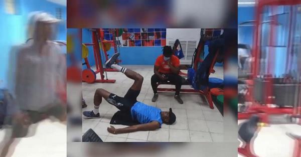 Desde Camagüey entrena atletismo cubano para Juegos Olímpicos de Tokio