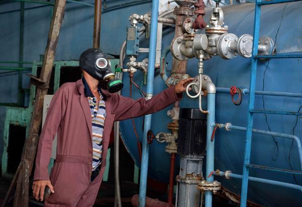Controlado escape de amoniaco en fábrica de helados Coppelia de Camagüey