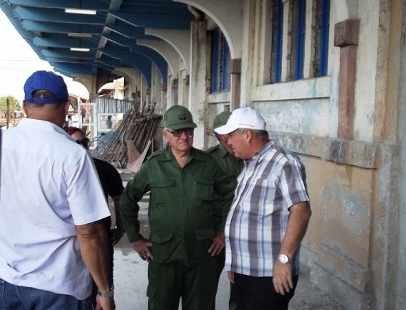 Futuro Museo Ferroviario, en la antigua terminal de trenes de la ciudad de Camagüey.