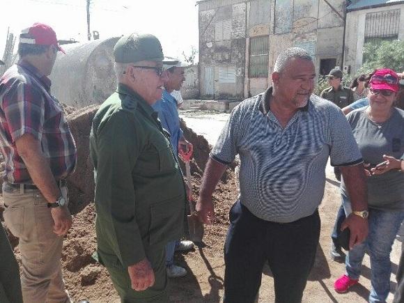 Constata Espinosa Martín recuperación del fondo habitacional en Camagüey (+ Fotos)