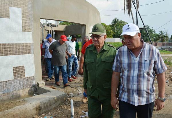 Considera positivo Ramón Espinosa Martín trabajo de los camagüeyanos en recuperación de viviendas (+Audio)