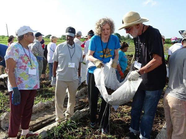 Manos solidarias de la brigada estadounidense Venceremos se extendieron a tierras camagüeyanas (+ Fotos)