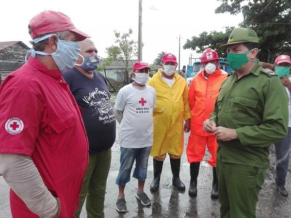 Resultan mínimas las afectaciones de la tormenta tropical Eta en Camagüey