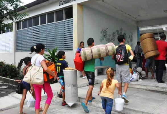 Garantie dans Minas la sécurité de la population face à la menace d'Irma