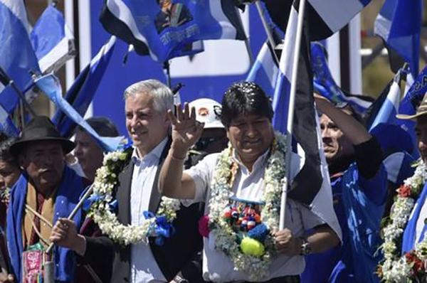 Respaldan en Bolivia reelección de Evo Morales y García Linera