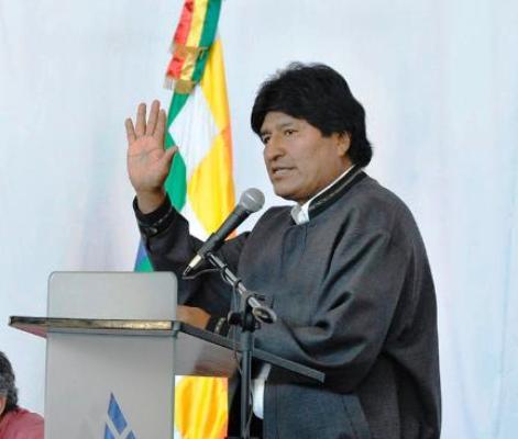 Inaugura Evo Morales encuentro sobre desarrollo y seguridad alimentaria