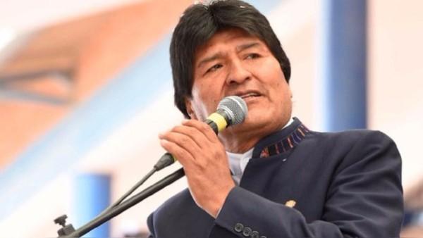 Reitera Evo Morales respaldo de Bolivia a Cuba contra el bloqueo