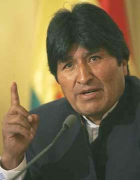 Evo Morales denuncia plan contra elecciones judiciales